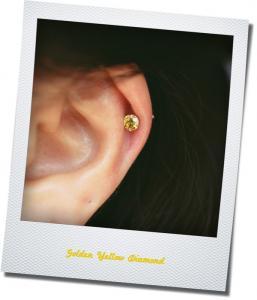 Golden Yellow Diamond