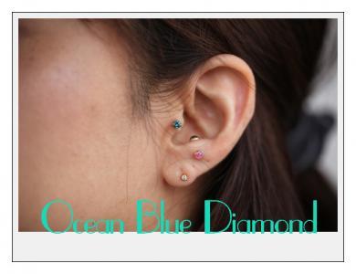 Ocean Blue Diamond