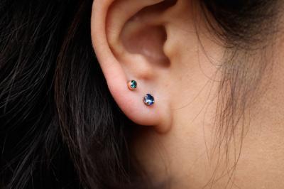ブルーサファイア × ブルーダイヤモンド