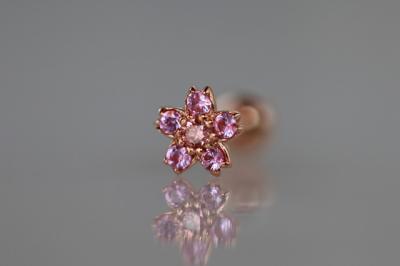 ピンクダイヤモンド × ピンクサファイア