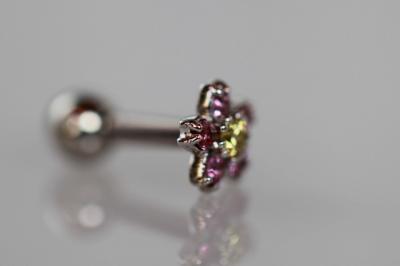 イエローダイヤモンド × ピンクサファイア