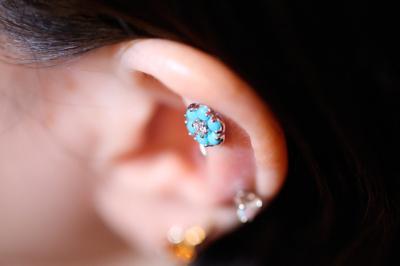 ダイヤモンド × ターコイズ