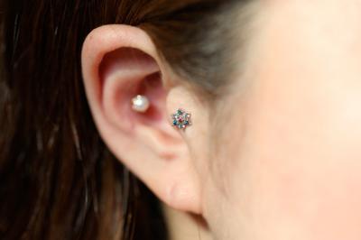ピンクダイヤモンド × オーシャンブルーダイヤモンド × アクアマリン