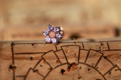 ピンクコーラル × ピンクジルコニア