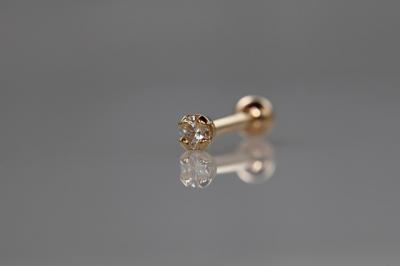 ダイヤモンド 2,5mm VVS-E