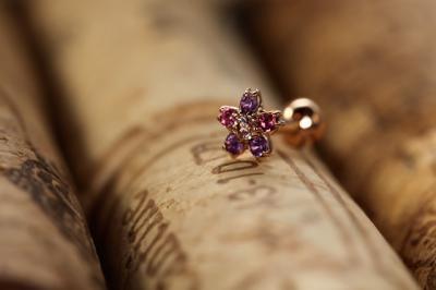 ピンクダイヤモンド × アメシスト × ピンクトルマリン