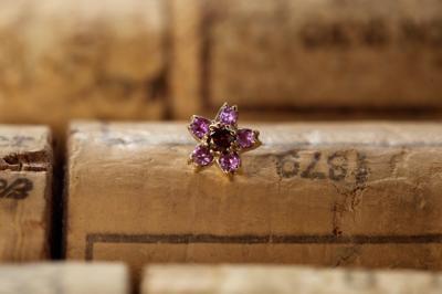 レッドダイヤモンド × ピンクサファイア
