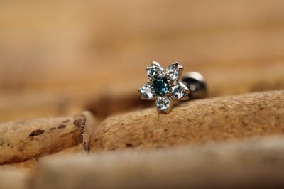 オーシャンブルーダイヤモンド × アクアマリン