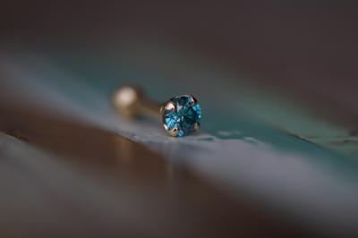 Ice Blue Diamond VS