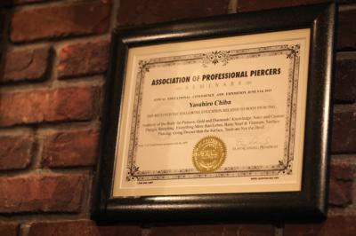 ASSOCIATION OF PROFESSIONAL PIERCERS