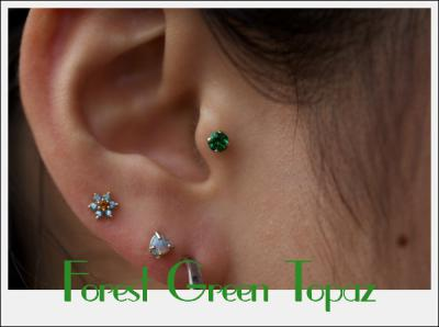 Forest Green Topaz