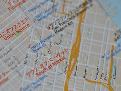 SF市内マップ
