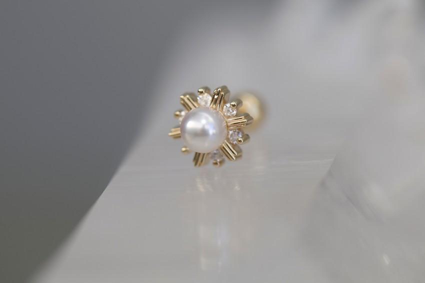 パール × ダイヤモンド