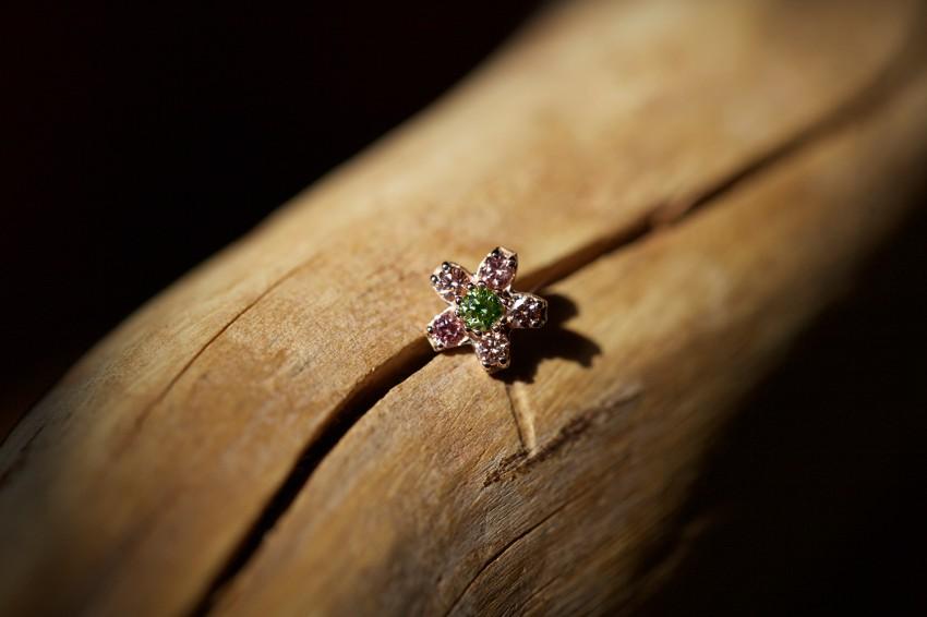 アイスグリーンダイヤモンド × アイスピンクダイヤモンド