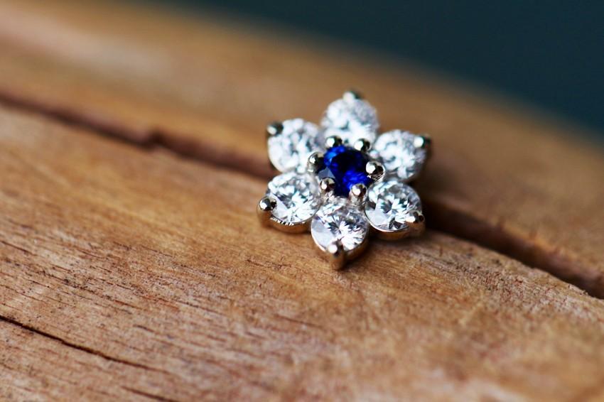 ブルーサファイア × ダイヤモンド