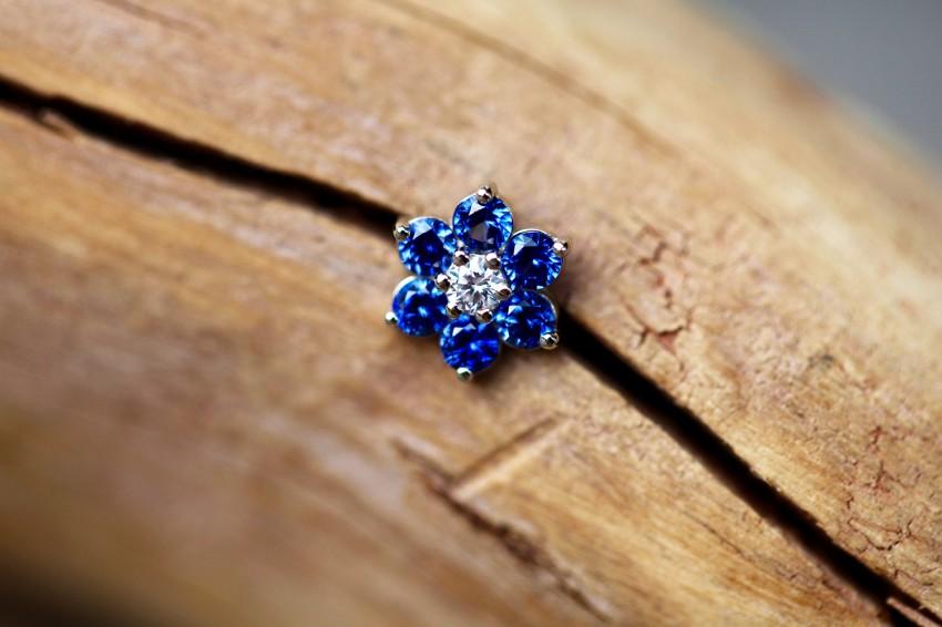 ダイヤモンド VS-F ×  ブルーサファイア