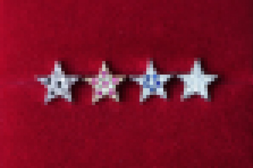 Pave Star Jewelry