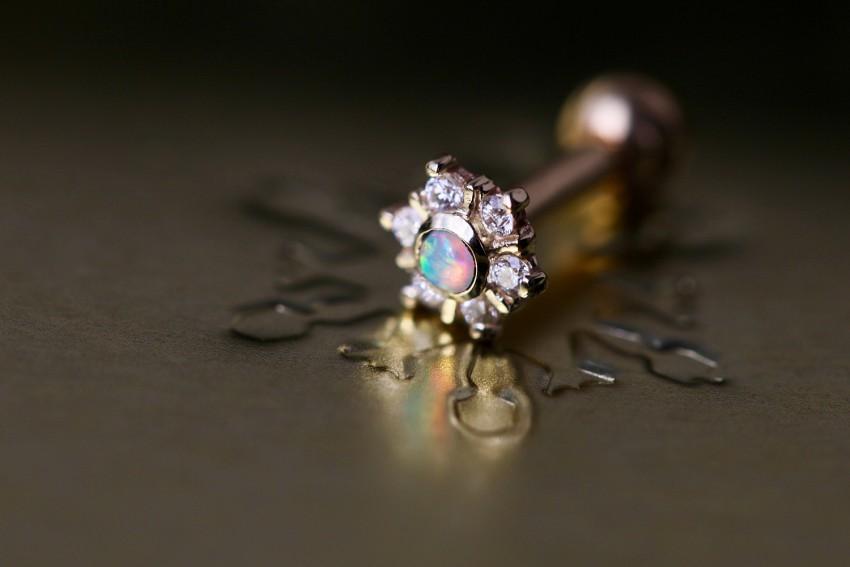 オパール × ダイヤモンド