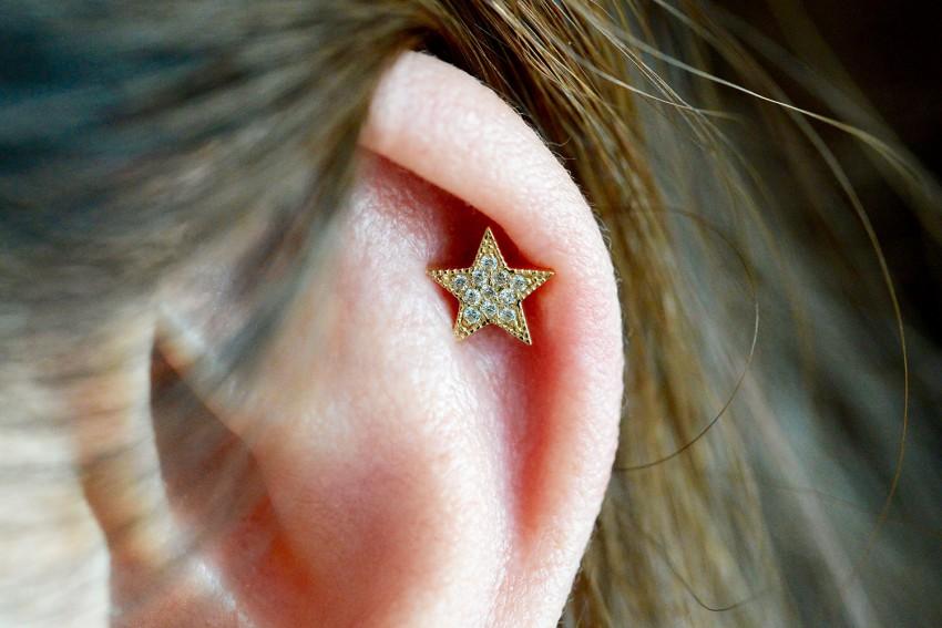 Micro Pave Star