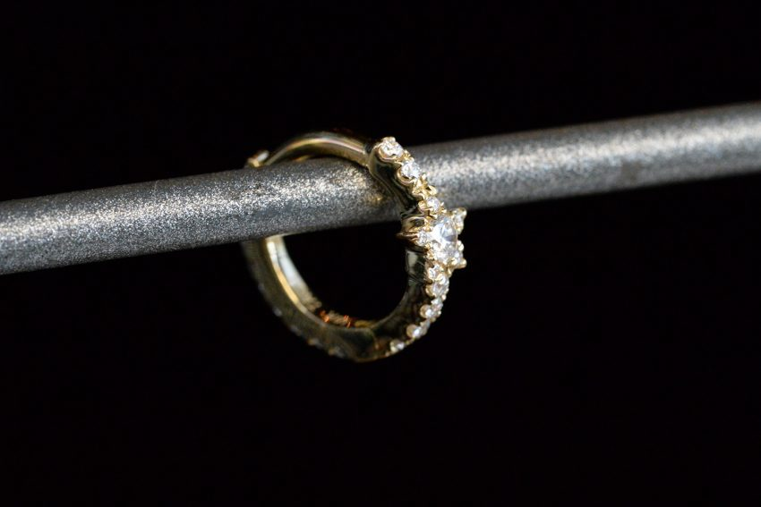Diamond Star Eternity Ring