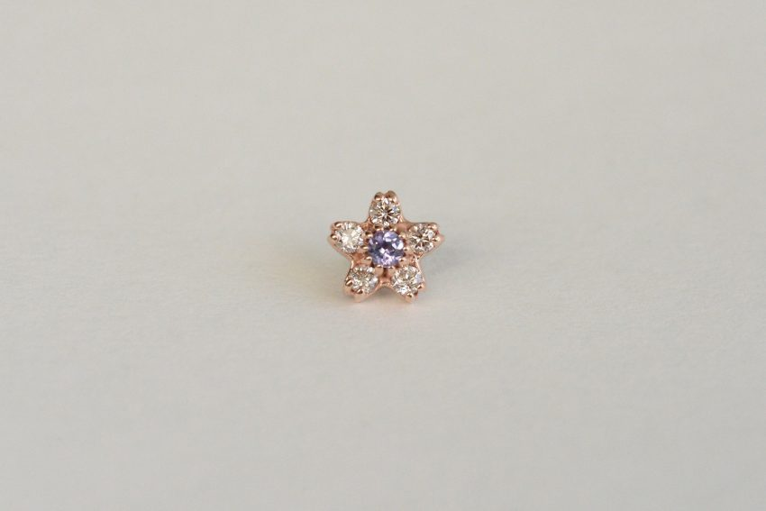 タンザナイト × ダイヤモンド