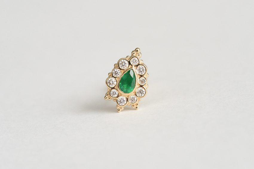 エメラルド × ダイヤモンド