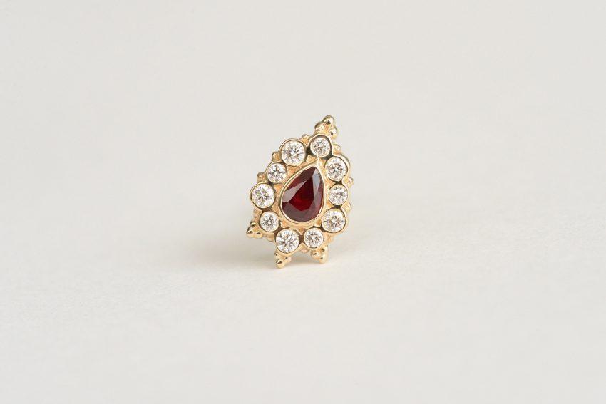 ルビー × ダイヤモンド