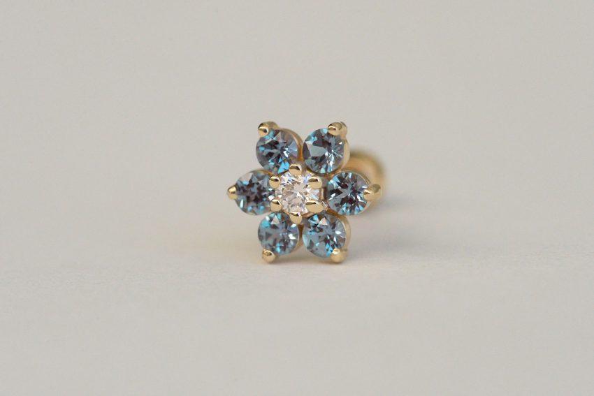 ダイヤモンド × アレキサンドライト