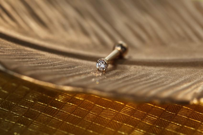 ダイヤモンド 2,5ミリ VVS-E