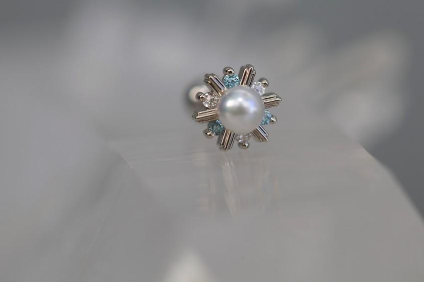アイスブルーダイヤモンド × ダイヤモンド