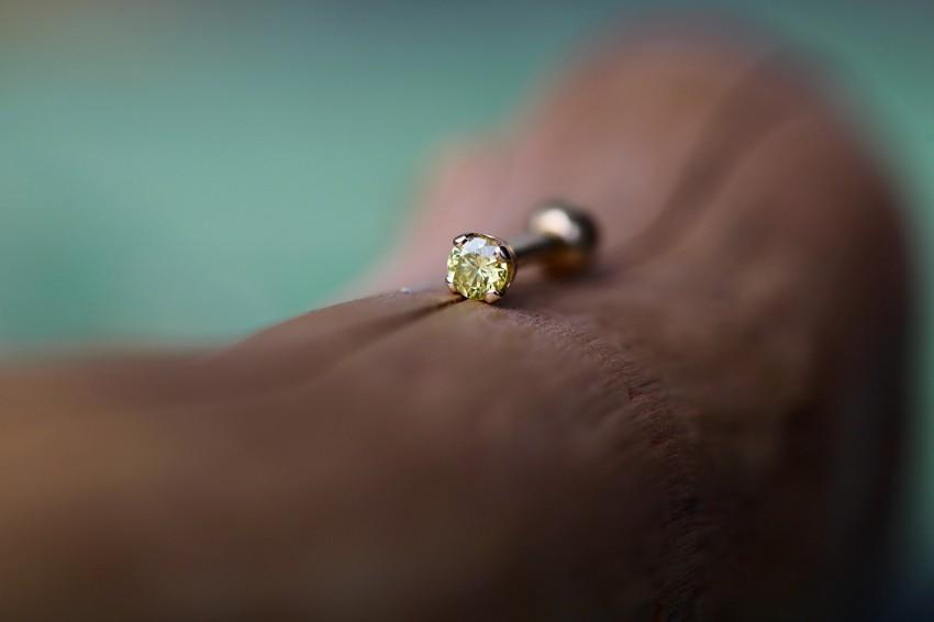 カナリーイエローダイヤモンド SI