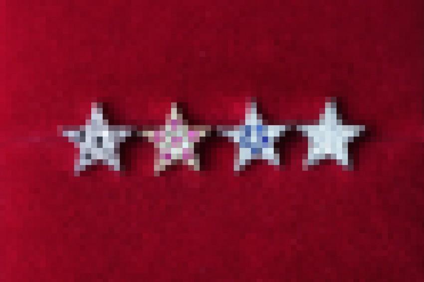 Pave Star Jewelry