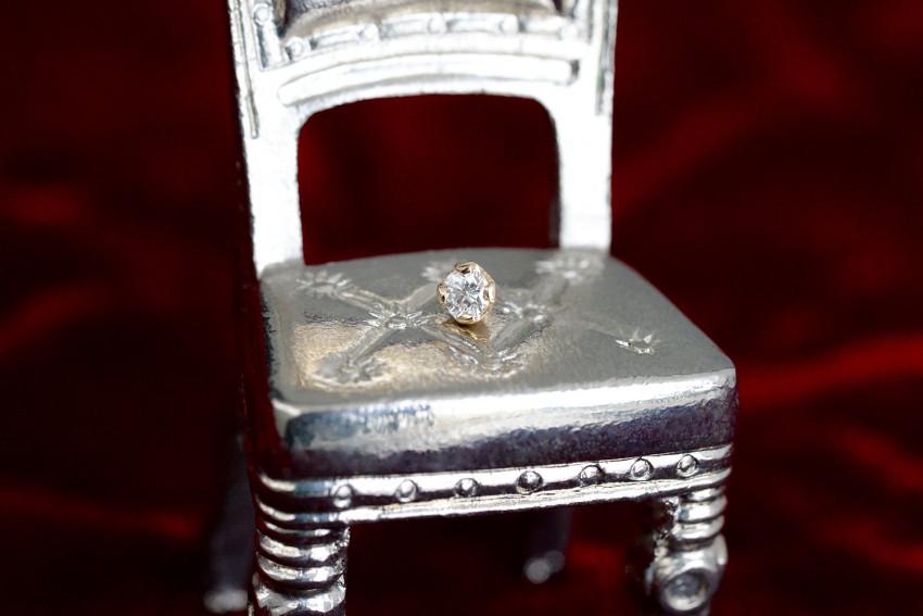 ダイヤモンド 2,5ミリ