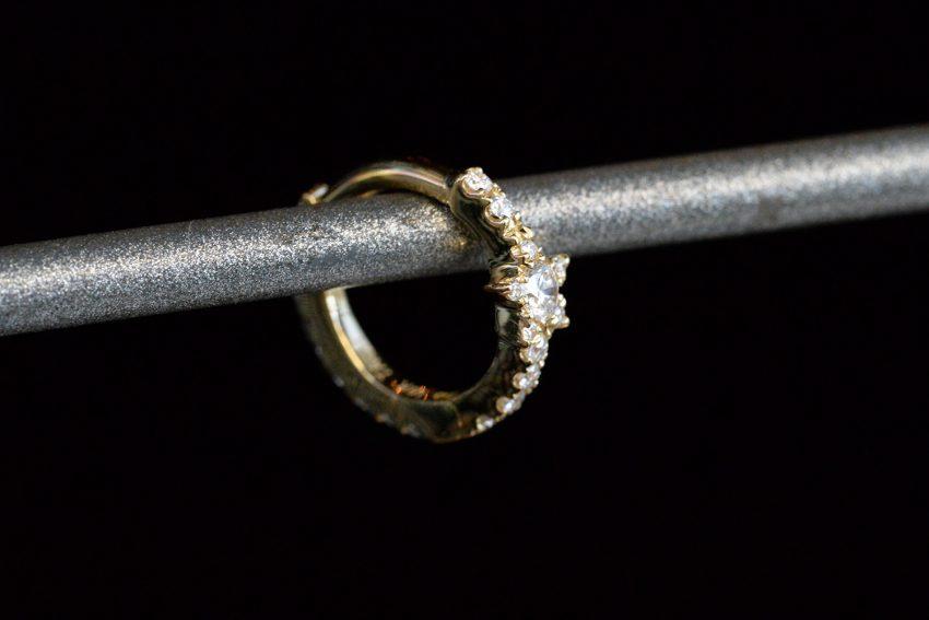 Diamond Star Eternity Ring