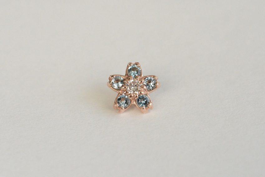 ダイヤモンド × アクアマリン