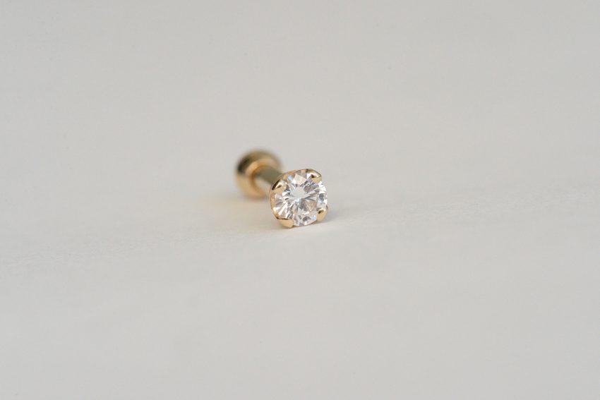 3ミリ ダイヤモンド VVS-E