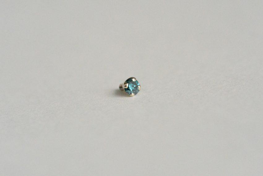 オーシャンブルーダイヤモンド SI