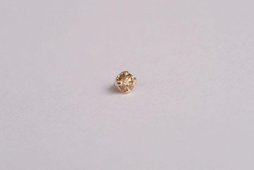 チョコレートブラウンダイヤモンド